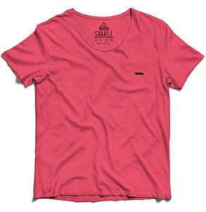 Camiseta Tingida Básica Algodão 30.1 LaVíbora - Rose