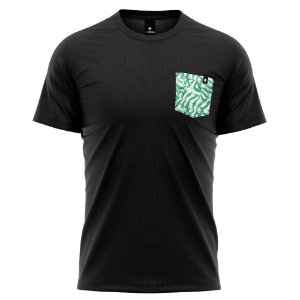 Camiseta Bolso Estampado LaVíbora - Verde