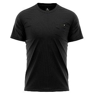 Camiseta Básica Algodão Premium 30.1 - Bolso Liso