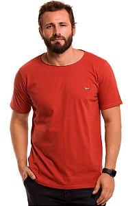 Camiseta Básica Corte A Fio 100% Algodão LaVíbora - Terra