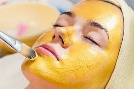 Peeling de Diamante com Máscara de Ouro
