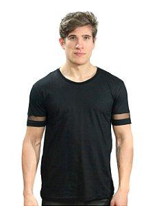 Camiseta com Transparência