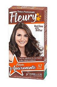 FLEURY Coloração Permanente Kit 6.7 Chocolate