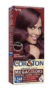 COR&TON Coloração Permanente 5.546 Vermelho Amora