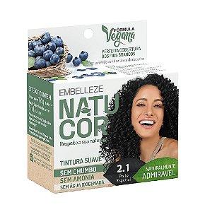 NATUCOR Coloração Suave Vegana 2.1 Preto Especial
