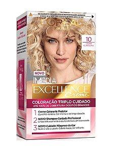 IMÉDIA Excellence Coloração Permanente 10 Louro Clarissimo
