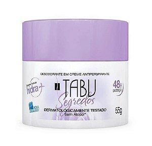 TABU Desodorante Antitranspirante Creme Segredos 55g