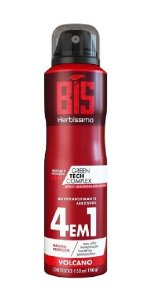 HERBÍSSIMO Desodorante Antitranspirante Aerosol 4em1 Volcano 150ml