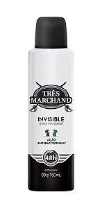TRÈS MARCHAND Desodorante Antibacteriano Aerosol Invisible 150ml