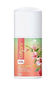 LA FLORE Desodorante Antiperspirante Roll On Flor de Hibisco 50ml