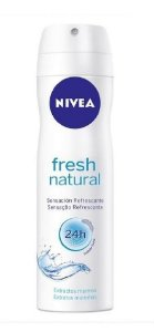 NIVEA Desodorante Aerosol Fresh Natural 150ml