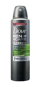 DOVE MEN +CARE Desodorante Antitranspirante Aerosol Minerales 150ml