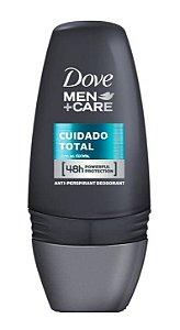 DOVE MEN +CARE Desodorante Antitranspirante Roll On Cuidado Total 50ml (vencimento 06/21)