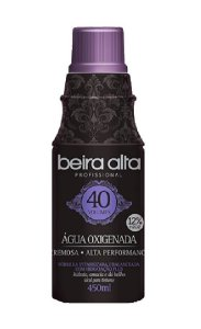 BEIRA ALTA Profissional Black Água Oxigenada Cremosa Alta Performance 40 Volumes 450ml