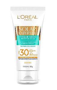 L'ORÉAL PARIS Solar Expertise Protetor Solar Facial FPS 30 Toque Seco 50g