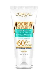 L'ORÉAL PARIS Solar Expertise Protetor Solar Facial FPS 60 Toque Seco 50g