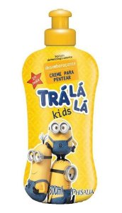 TRÁ LÁ LÁ Kids Desembaraçante Creme para Pentear Minions 300ml