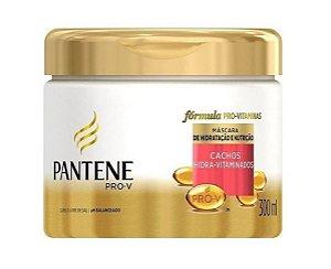 PANTENE Cachos Hidra-vitaminados Máscara Capilar de Hidratação e Nutrição 300ml