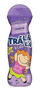 TRÁ LÁ LÁ Kids Eu Amo Cachos Shampoo Óleo de Argan 480ml