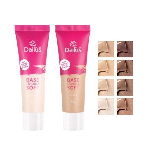 Dailus Color Base Líquida Soft Nova Fórmula - 30g