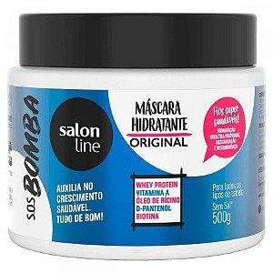 Salon Line SOS Bomba Máscara Hidratante Original 500g