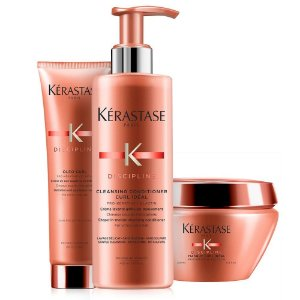 Kérastase Discipline Curl Idéal Kit Cleasing Conditioner + Masque + Oleo Curl