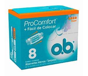 o.b. Absorvente Interno ProConfort Super 8un