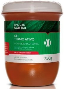 D'Água Natural Gel Termo Ativo Complexo Ecofloral - 750g
