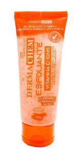 DERMACHEM Vitamina C e Íons Gel Esfoliante 100g