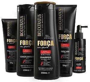 Bio Extratus Força Pimenta Kit Completo Consumidor (5 produtos)