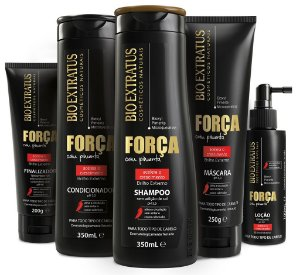 Bio Extratus Força Pimenta Kit Completo (5 produtos)