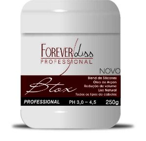 Forever Liss Botox Btox Capilar Argan - 250g