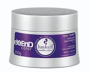 Haskell Extend Color Roxo-Violet Máscara Matizadora - 250g