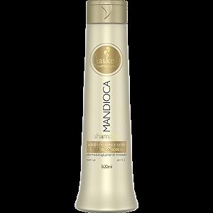 Haskell Mandioca Shampoo para Cabelos Opacos 500ml
