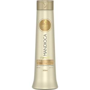 Haskell Mandioca Shampoo Cabelos Opacos - 500ml