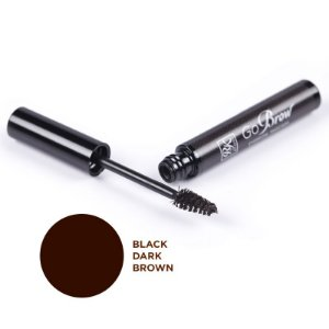 RK by Kiss NY GoBrow Brow Máscara de Sobrancelha - Black Dark Brown (RM01) - 6ml
