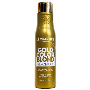 LÉ CHARME'S Gold Color Blond Perolado Matizador 500ml