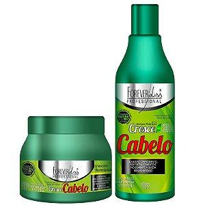 Forever Liss Cresce Cabelo Kit Shampoo 500ml + Máscara 250g