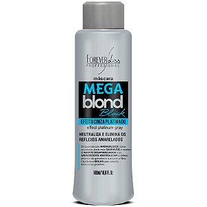 Forever Liss Mega Blonde Black Máscara Matizadora - 500ml