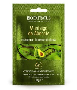 Bio Extratus Pós-química Manteiga de Abacate para Cabelos Danificados por química 30g
