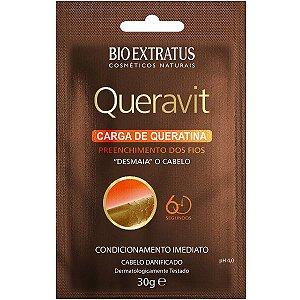 Bio Extratus Queravit Carga de Queratina Desmaia Cabelo - 30g