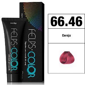 Felps Color Coloração Permanente - 66.46 - Cereja