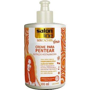 Salon Line SOS Cachos Verão Creme para Pentear 300ml