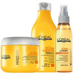 L'Oréal Professionnel Solar Sublime Kit Shampoo + Máscara + Leave-in