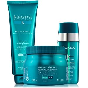 Kérastase Résistance Therapiste Kit Bain 450ml + Masque 500g + Sérum 30ml