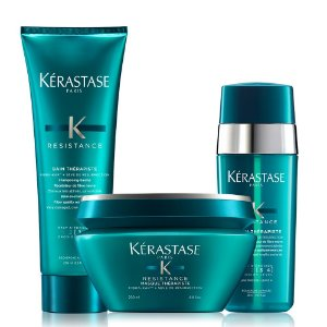Kérastase Résistance Therapiste Bain 250ml + Masque 200g + Sérum 30ml