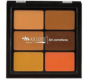 Max Love Paleta Corretivos Pele Escura 03