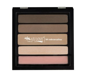 Max Love Paleta Sobrancelhas 02 Médio - 13g