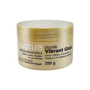 C.Kamura Blonde Vibrante Gloss Máscara de Tratamento - 250g