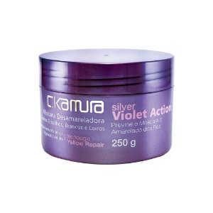 C.Kamura Silver Violet Action Máscara de Tratamento - 250g